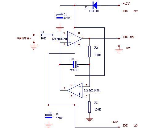 从收音机到接口电路的音频输入线用屏蔽