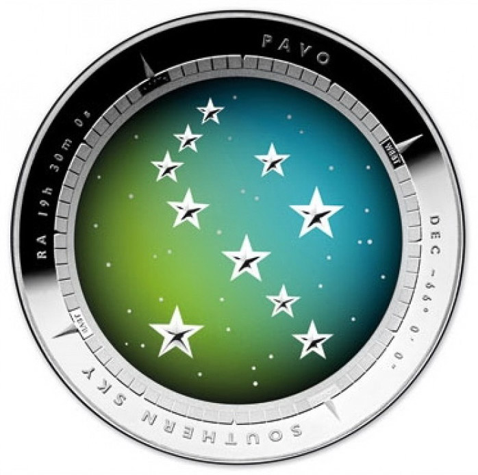 2013-ROYAL-AUSTRALIAN-MINT-SOUTHERN-SKY-PAVO-DOMED-SILVER-PROOF-FIVE-DOLLARS-COIN-7-1500x700