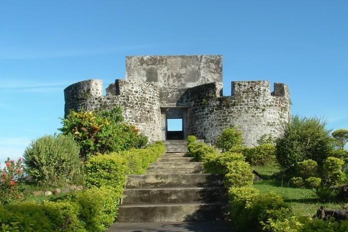 tolucco fort(ternate island)